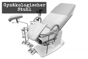 Gynäkologischer Stuhl